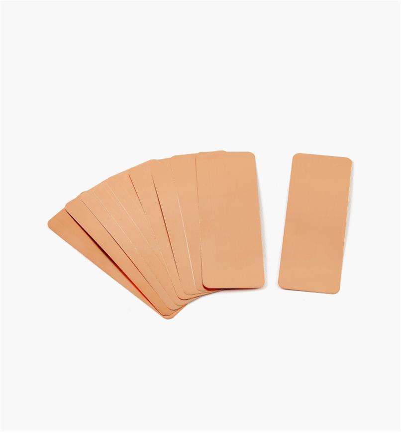 EA607 - Extra Copper Labels, pkg. of 10