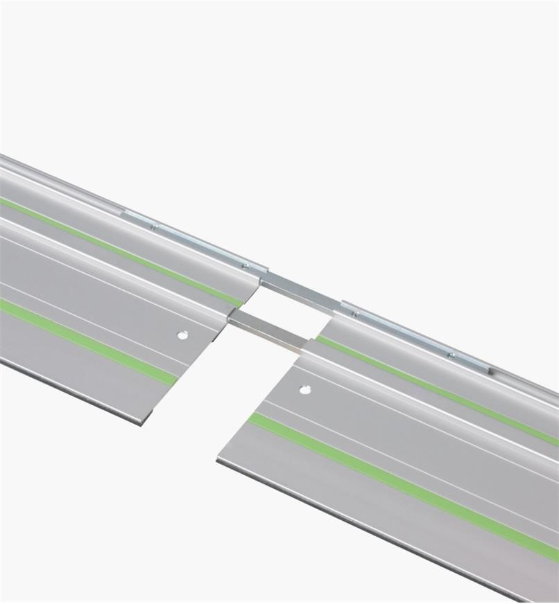 Connector joining two Festool Guide Rails