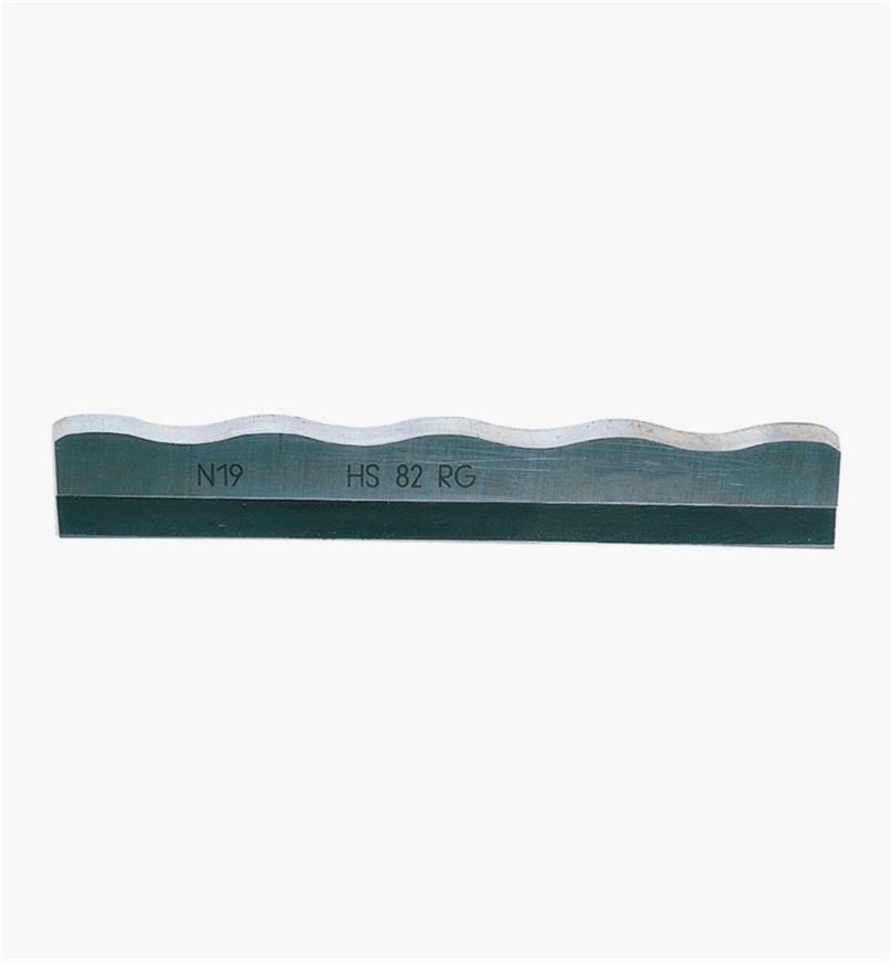 ZA484519 - Spiral HSS Blade – Rustic, Coarse