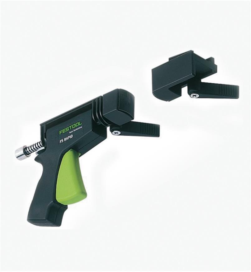 ZA489790 - Serre-joint rapide à mâchoires fixes