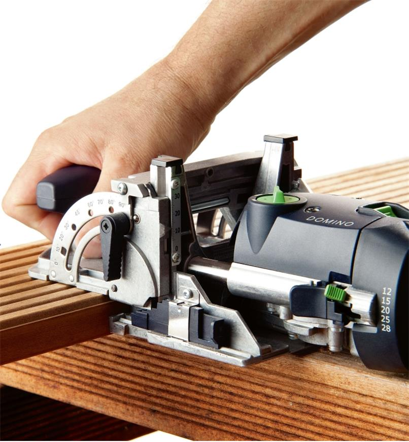 Cutting mortises with the Domino DF 500 Q Joiner