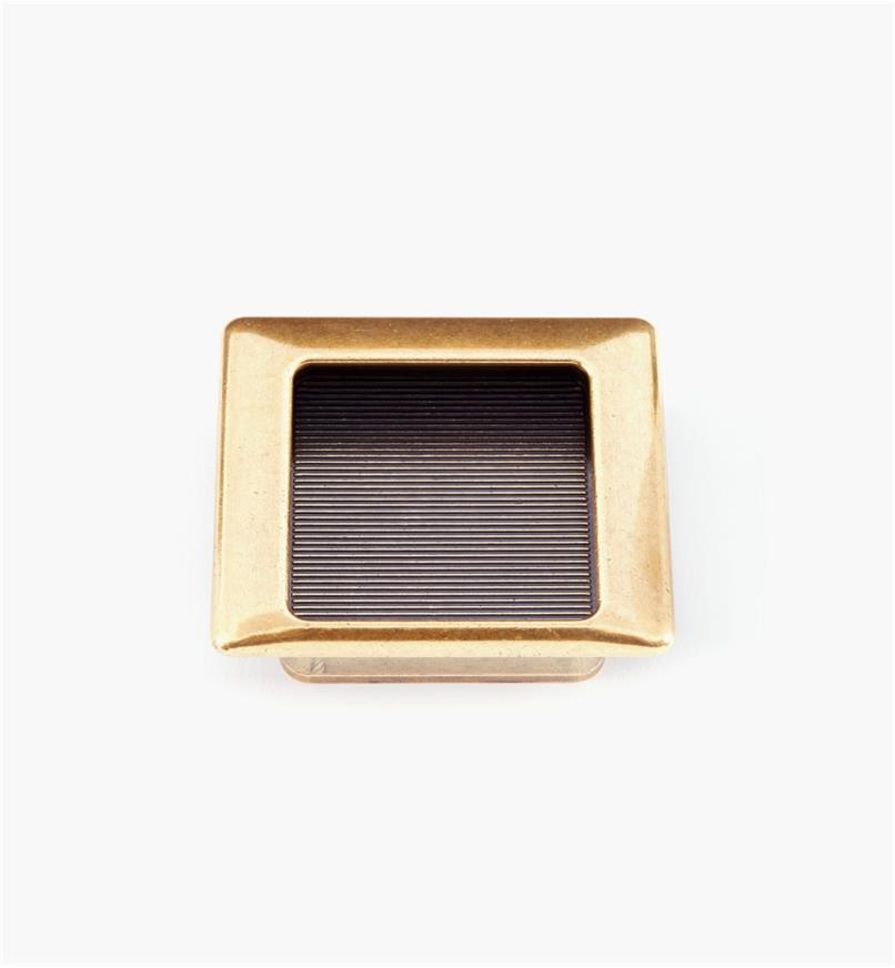 01X4232 - 68mm × 60mm Burnished Bronze Square Pull