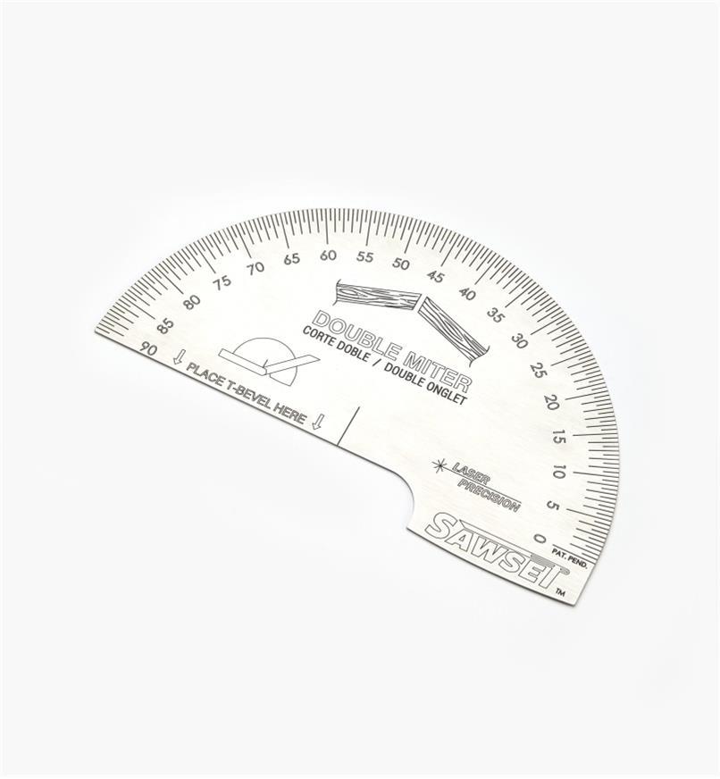 88N9090 - Guide de réglage pour scie à onglets