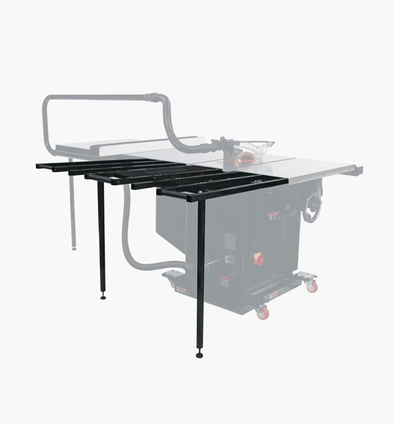 95T0504 - SawStop TSA-FOT Folding Outfeed Table