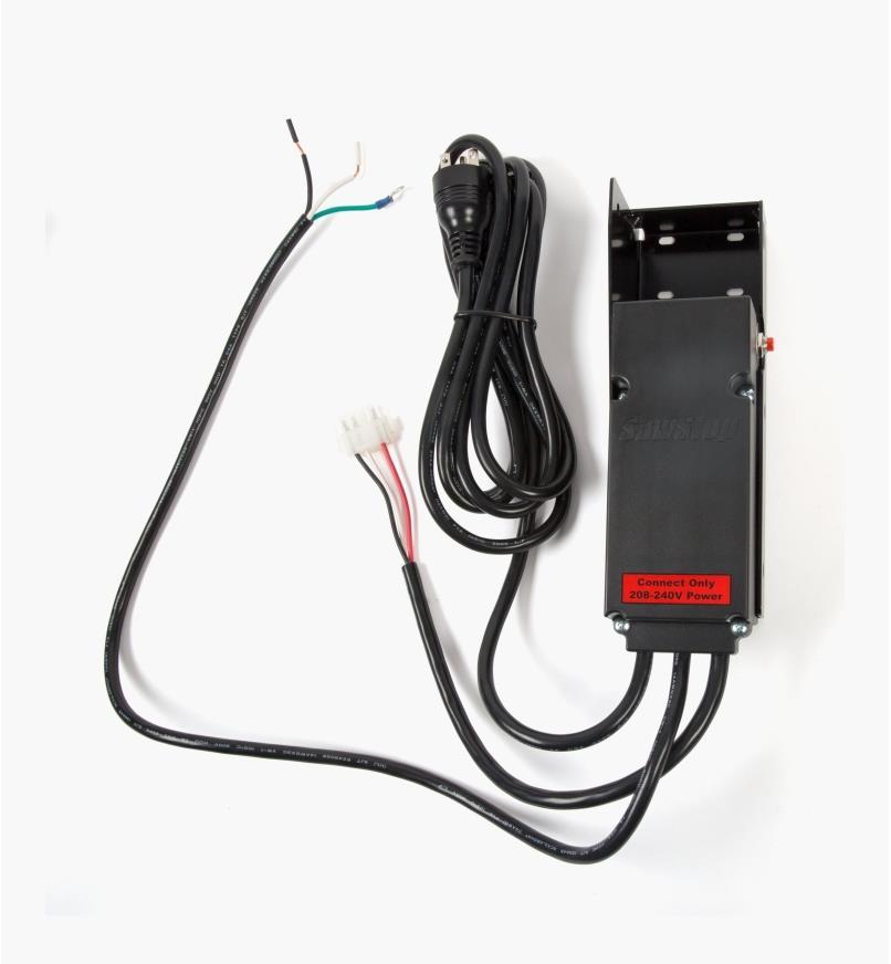 95T0571 - SawStop Professional Cabinet Saw 220V Conversion Kit