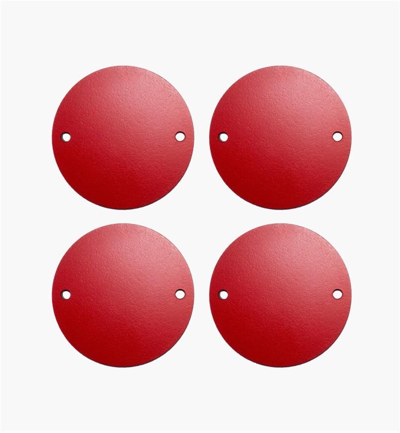 95T2416 - Plaques de lumière à dégagement zéro pour élévateur de toupie SawStop, le jeu de4