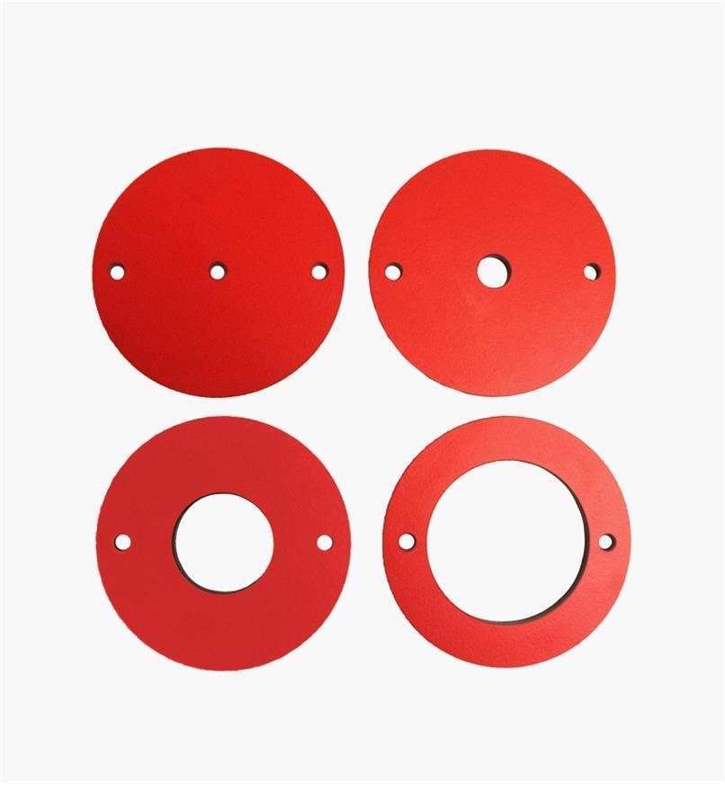 95T2417 - Plaques de lumière pour élévateur de toupie SawStop, le jeu de4