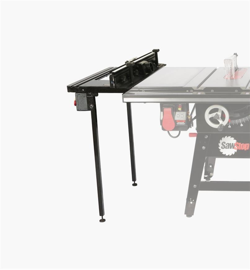 95T2555 - Table à toupie pour banc de scie pour entrepreneur SawStop