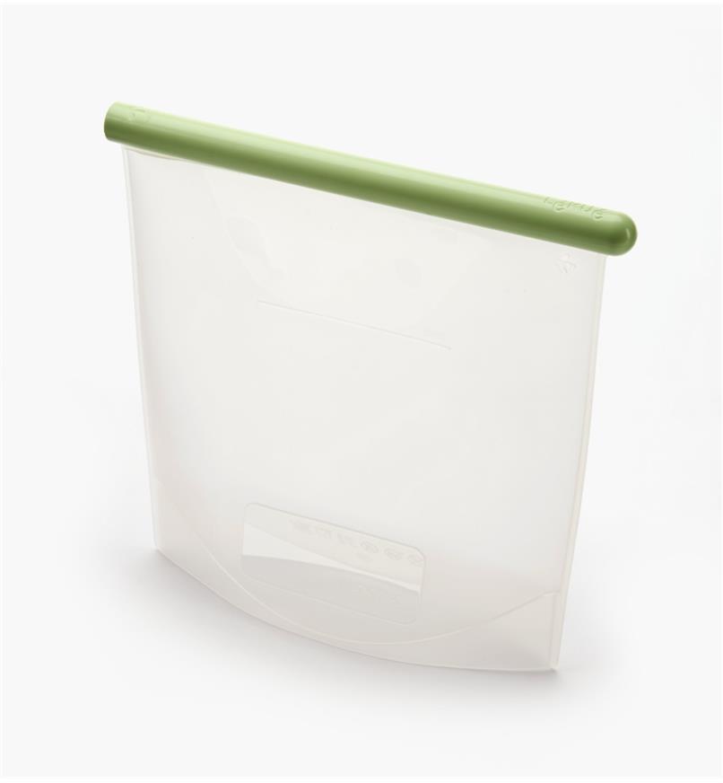 EV811 - Sac réutilisable en silicone, 1500 ml