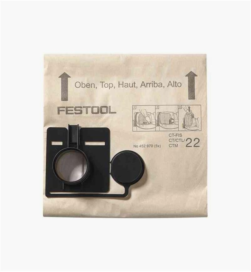ZA452971 - Filter Bag qty 5 (CT 33 E)