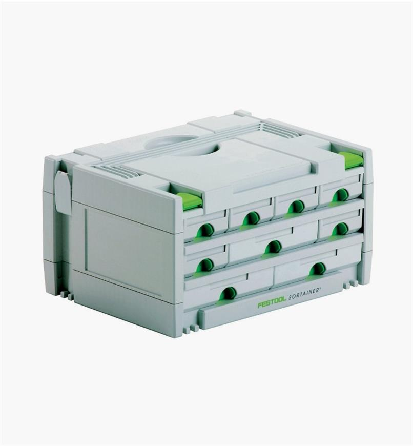 ZA491985 - 9 Drawer Sortainer Case