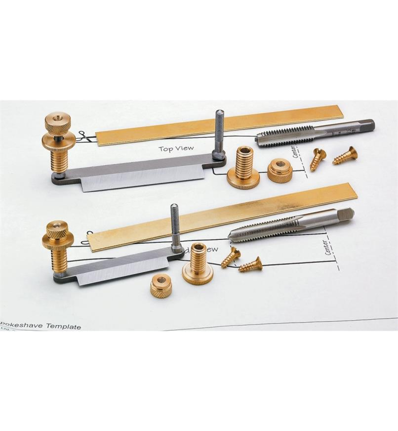 Veritas Hardware Kits for Wooden Spokeshaves