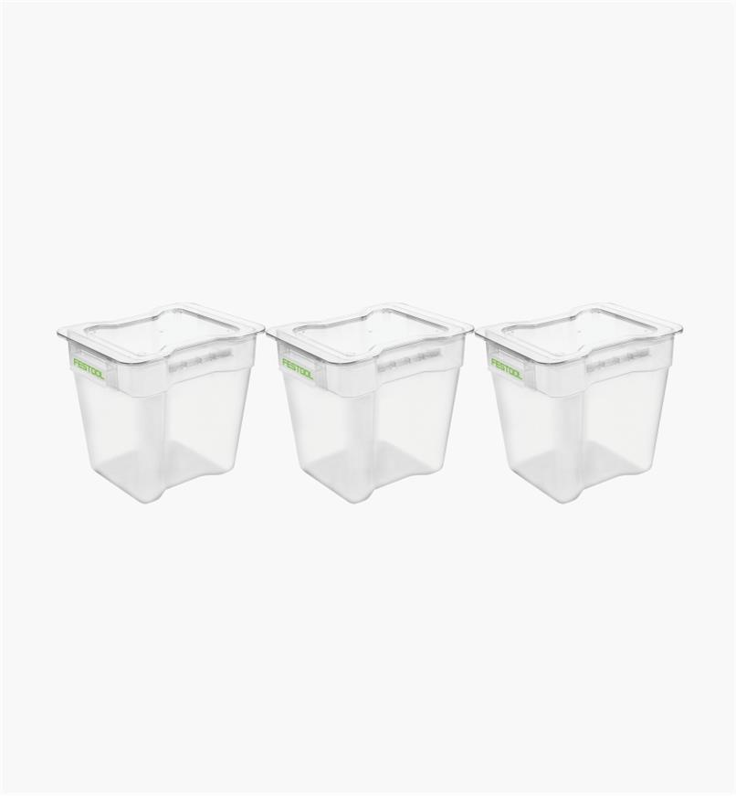ZA204295 - CT Cyclone - Collection Container VAB-20, pkg. of 3
