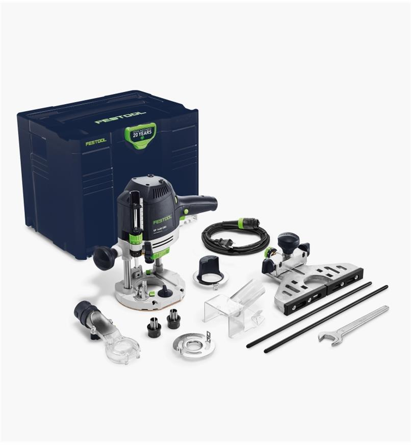 ZT576692 - Toupie OF 1400 EQ Festool, édition Émeraude