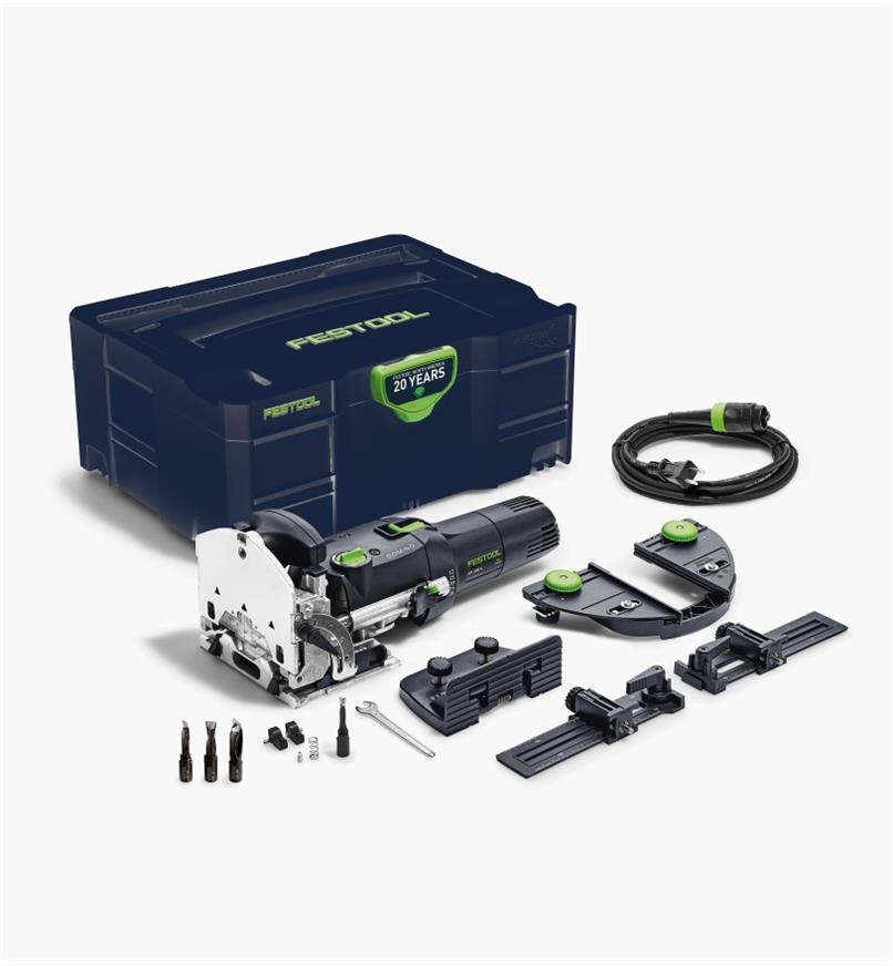 ZT576693 - Festool Emerald Edition Domino DF 500 Q Joiner