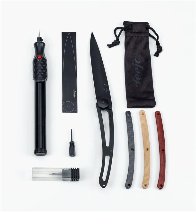 99W3984 - Couteau personnalisable à assembler