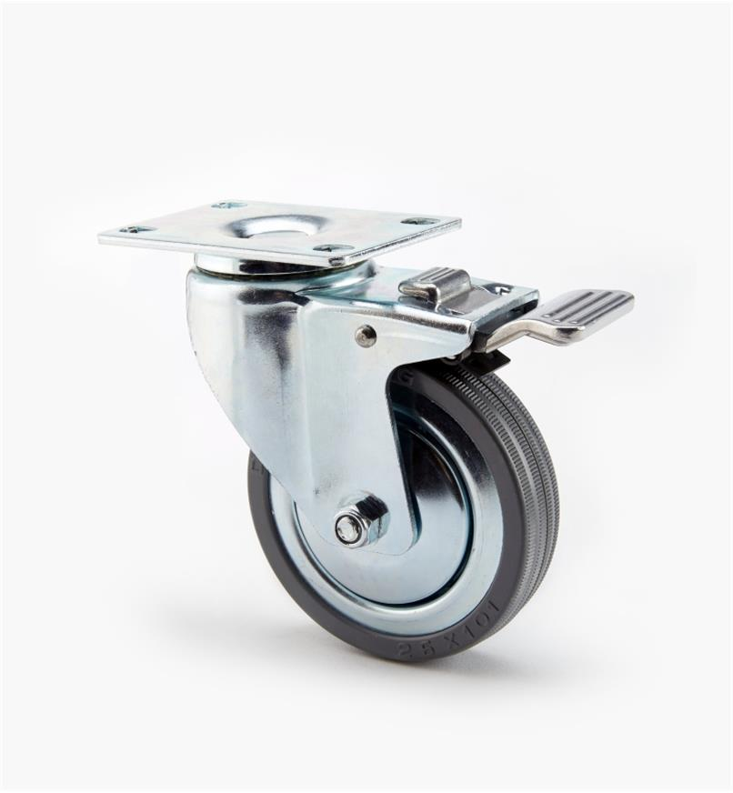 "00K2003 - 4"" Lock/Swivel Heavy-Duty Caster, ea"