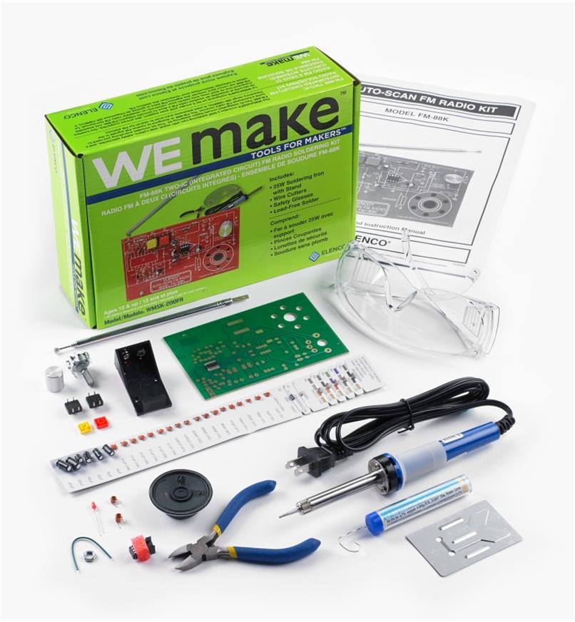 45K5050 - Elenco WEmake FM Radio Kit