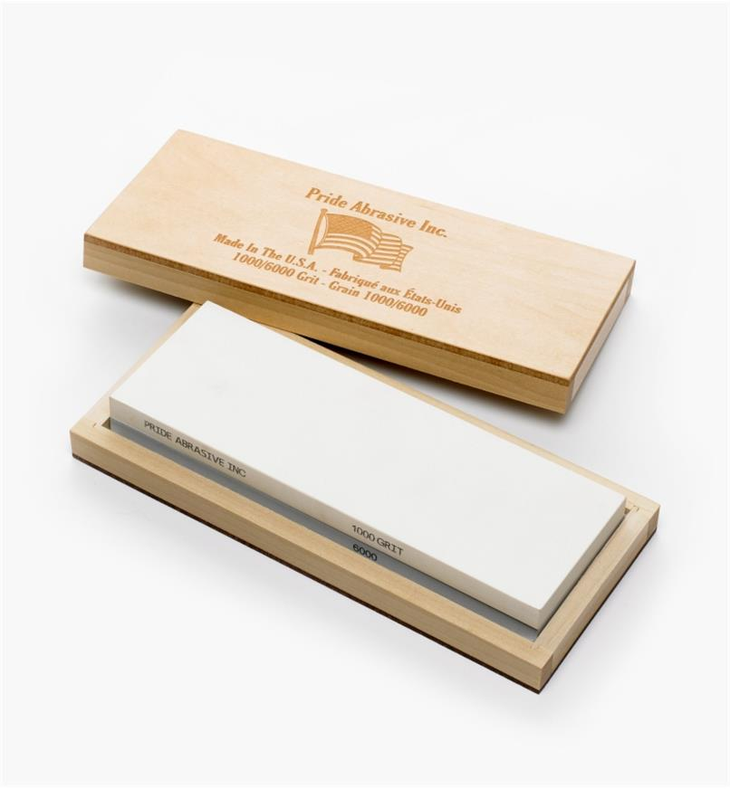 70M4123 - Pierre à eau en céramique Pride Abrasive, grains 1000 et 6000