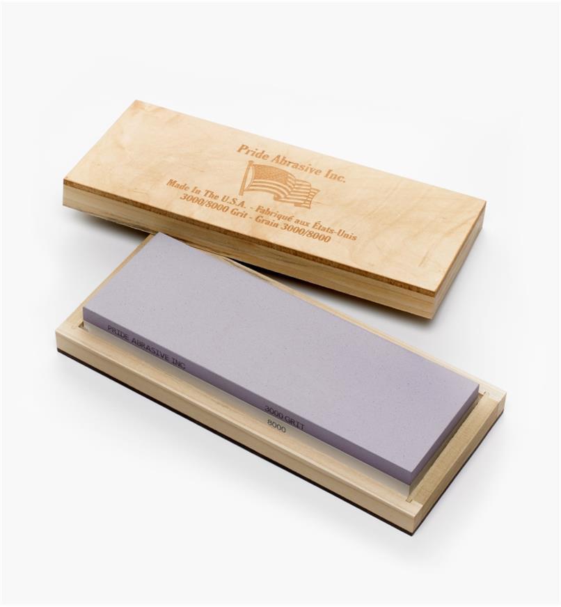 70M4125 - Pride Abrasive Ceramic Water Stone, 3000x/8000x