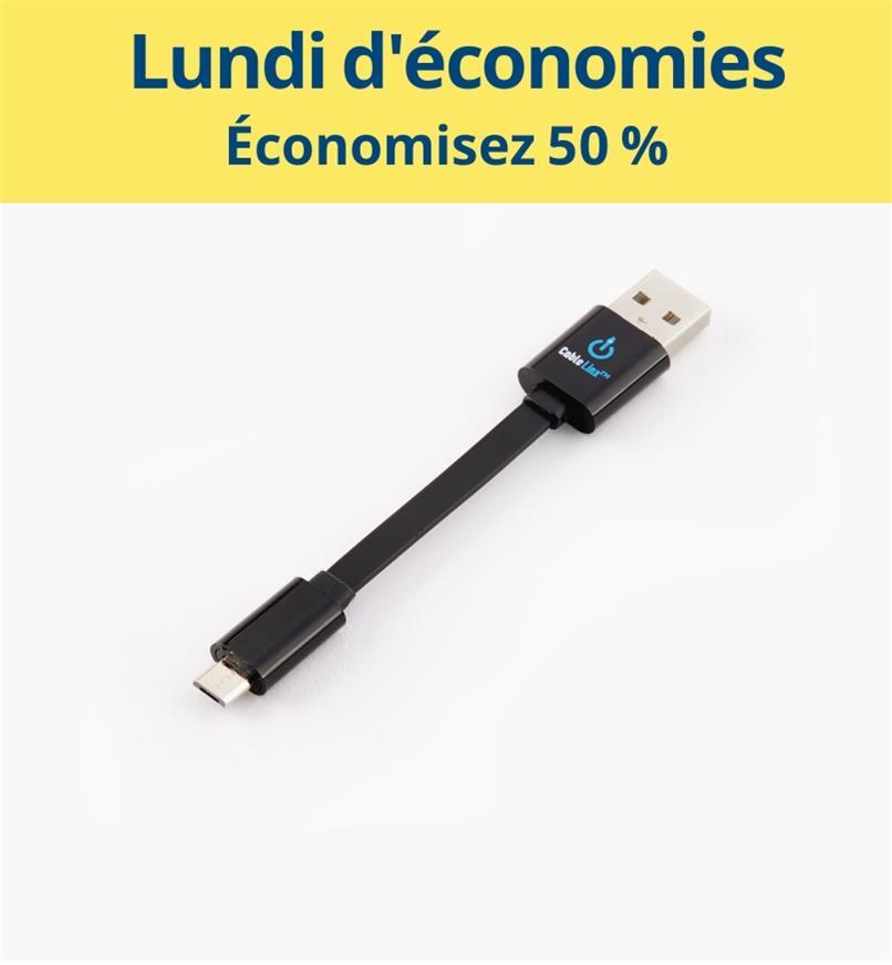 CM1080 - Câble USB vers micro USB
