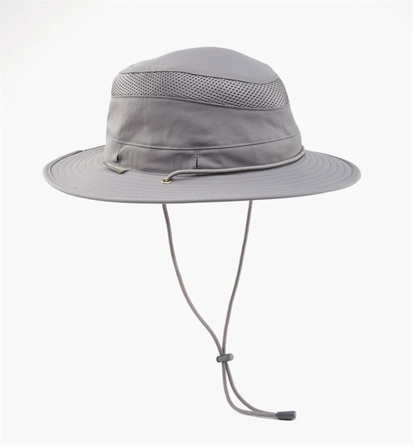 HL551 - Medium Classic Travel Hat, Charcoal Gray