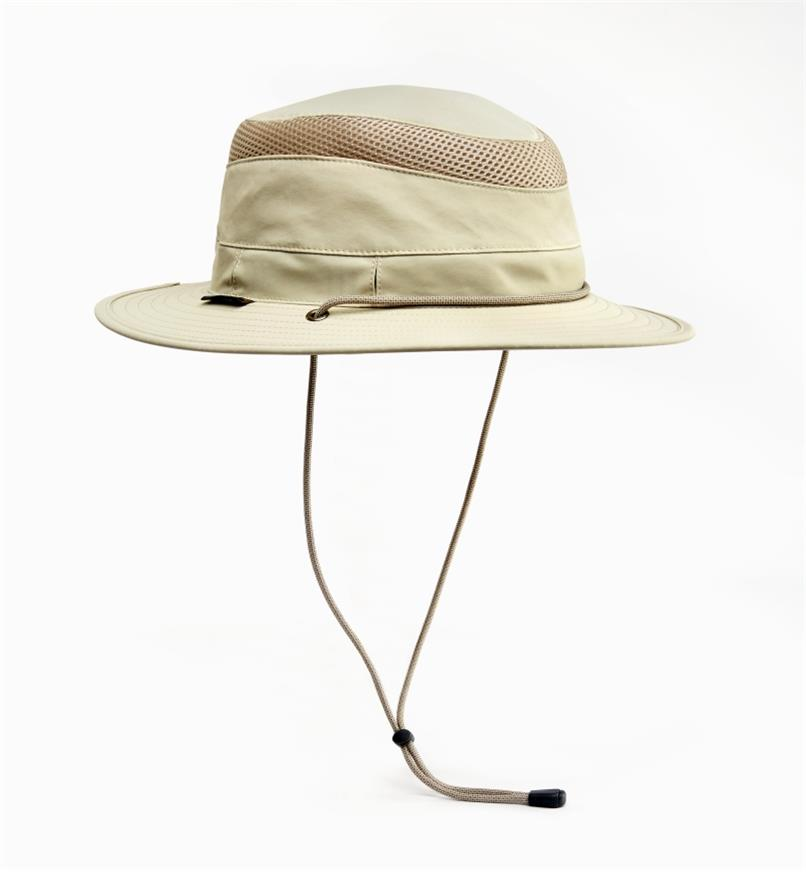 HL553 - Medium Classic Travel Hat, Cream