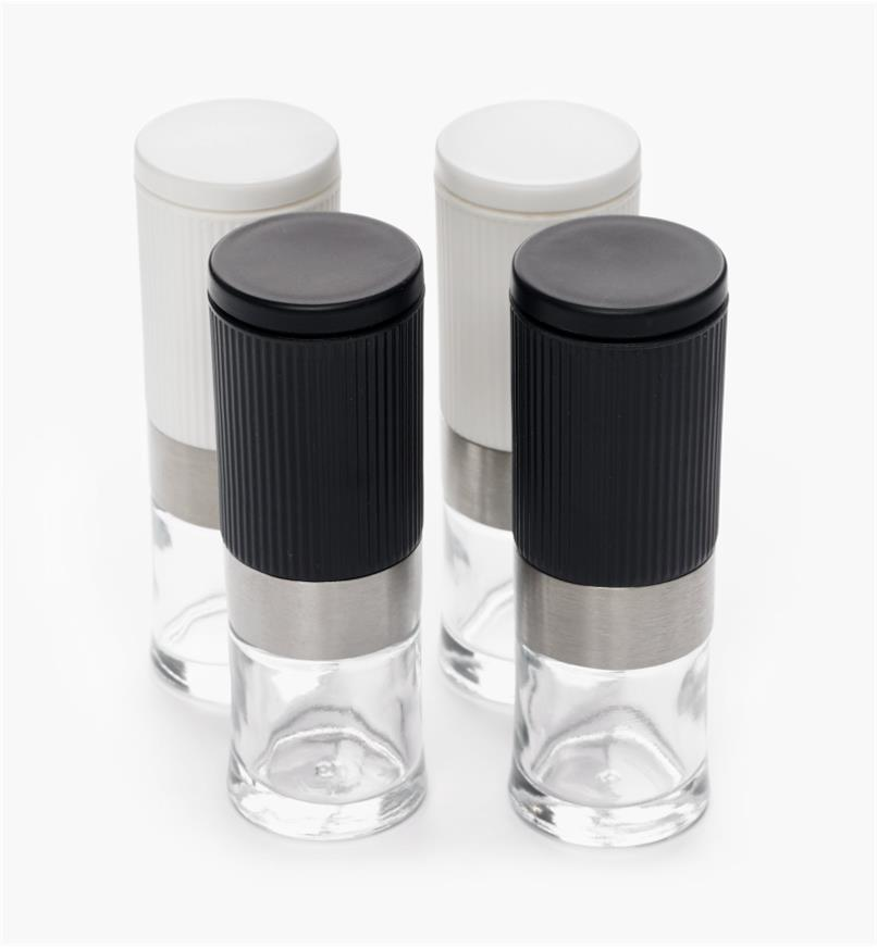 MP110 - Mini Salt & Pepper Grinders, set of 4