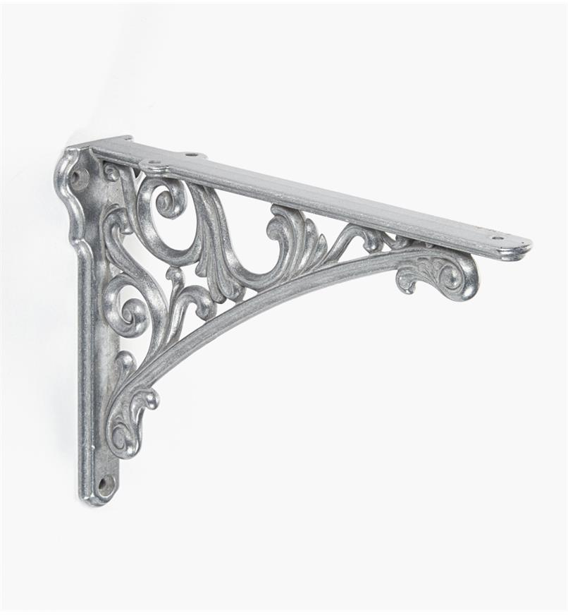 00S2871 - Classico Tumbled Nickel Shelf Bracket, each