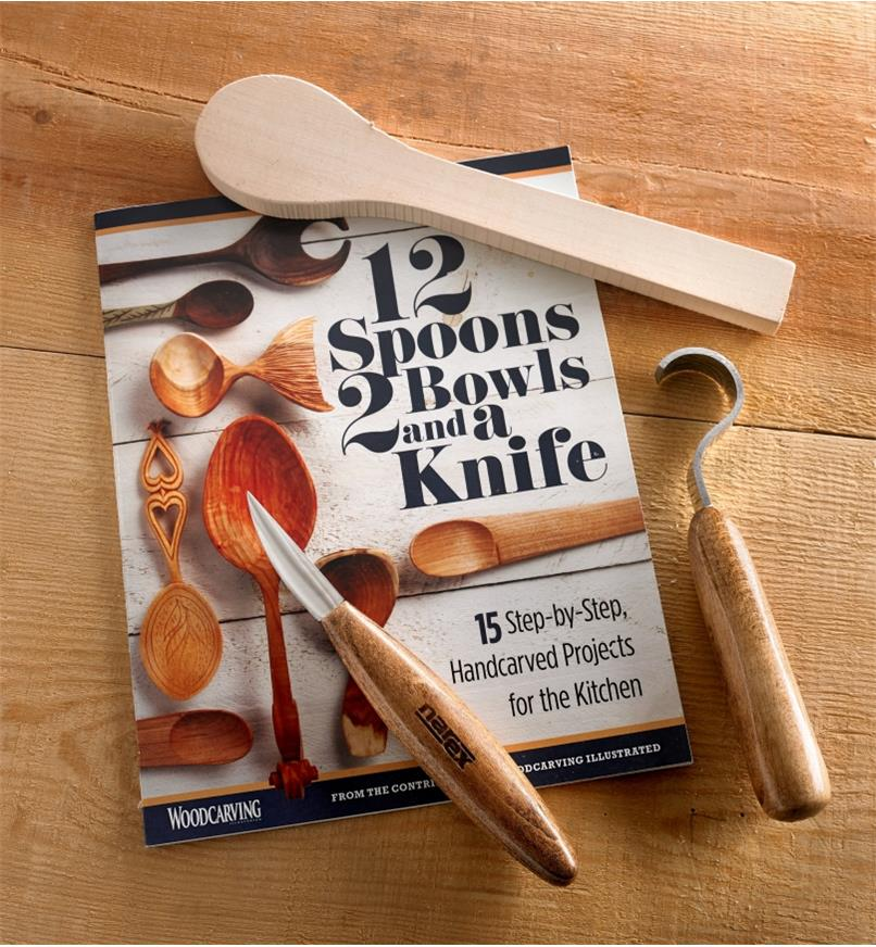 10S1060 - RH Spoon Carving Kit