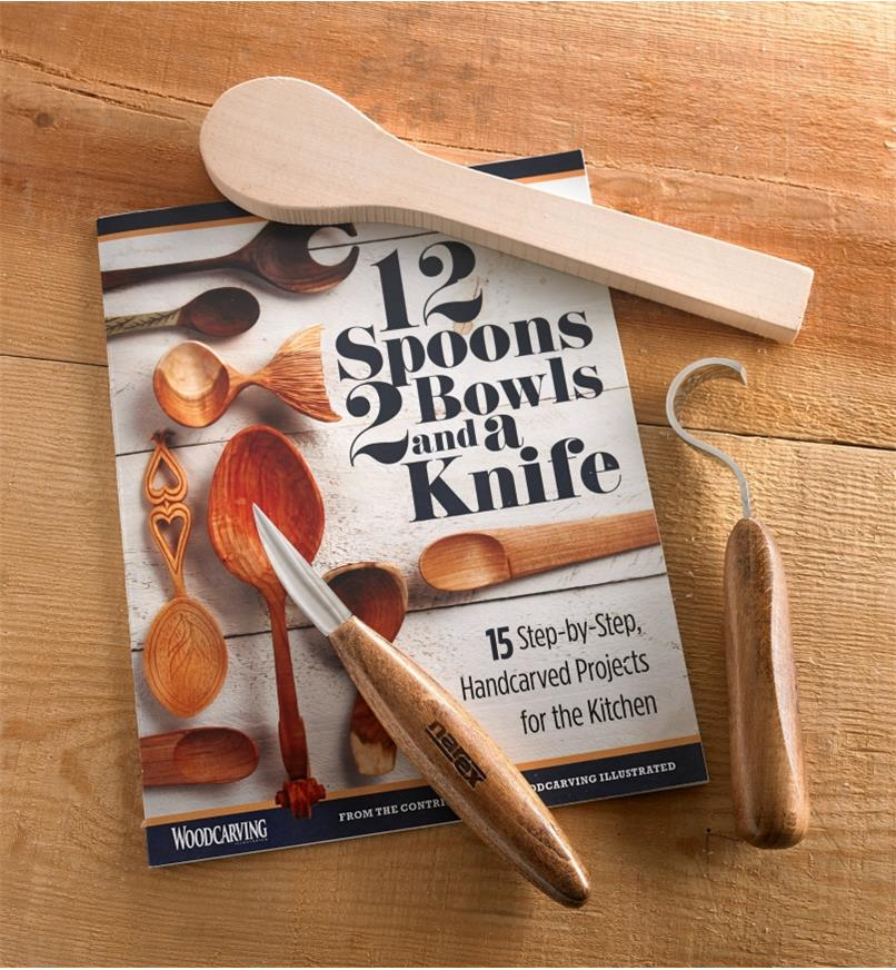 10S1062 - LH Spoon Carving Kit