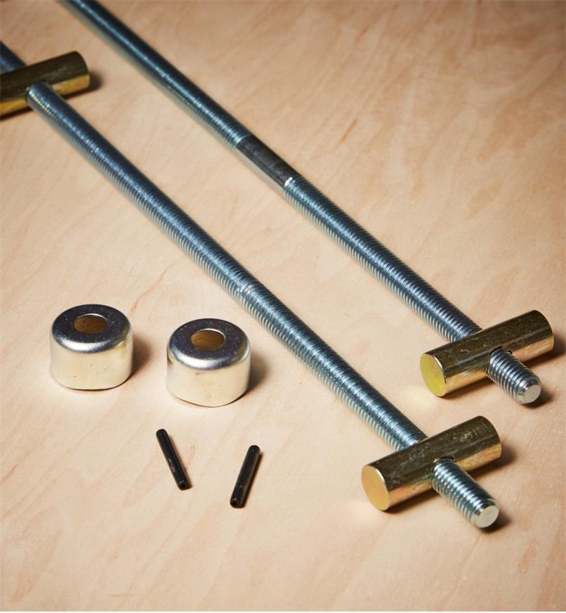 """03F0732 - 9 1/4"""" Dubuque Handscrew Kit (12"""" Jaw), each"""