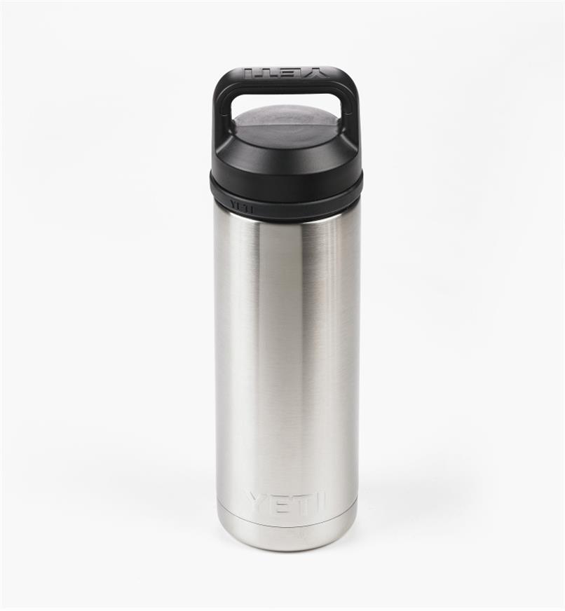 74K0050 - Bouteille isolante Yeti, 18 oz, acier inoxydable