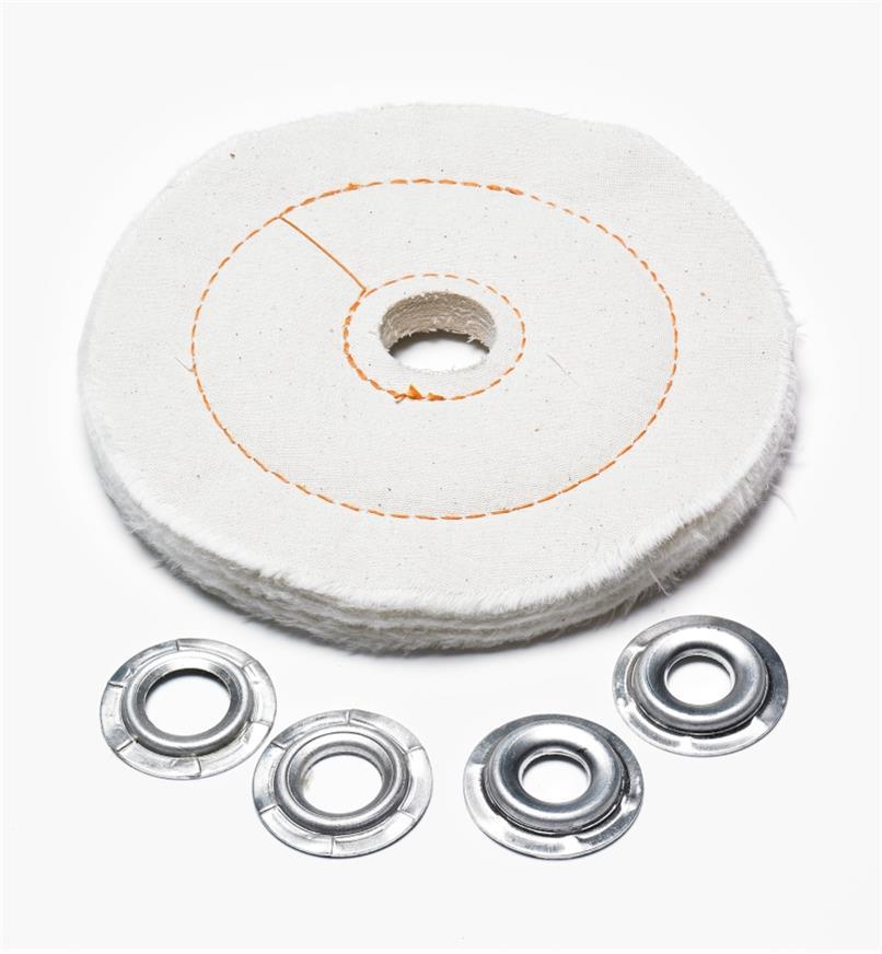 """76M0402 - Cloth Buffing Wheel, 6"""""""