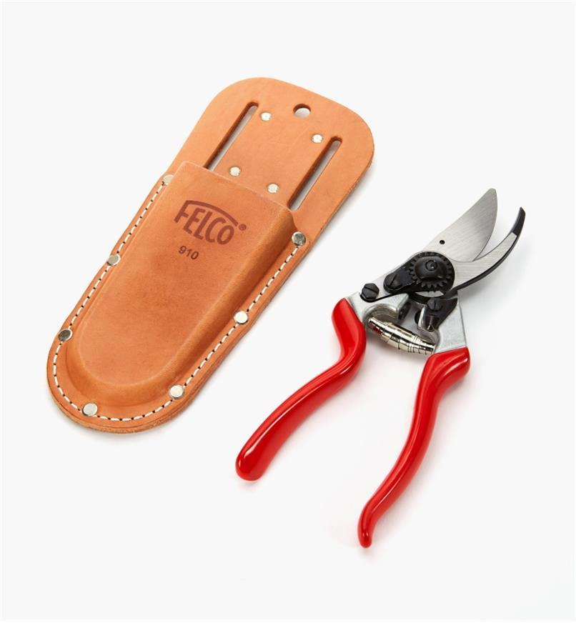 AB255 - Felco #9 Pruner, Left Hand, with Holster