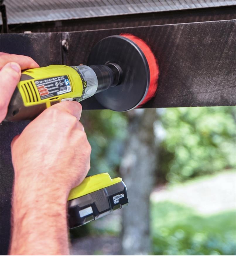 SA150 - Drill Brush, Medium Stiffness