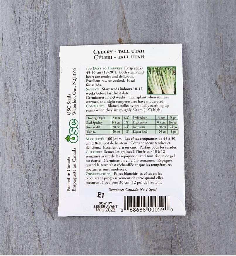 SD124 - Celery, Tall Utah