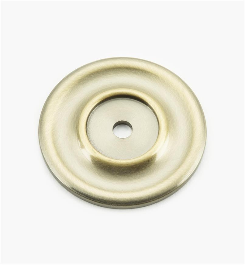 """02W3212 - 2 1/4"""" Round Brass Escutcheon, Polished Brass"""
