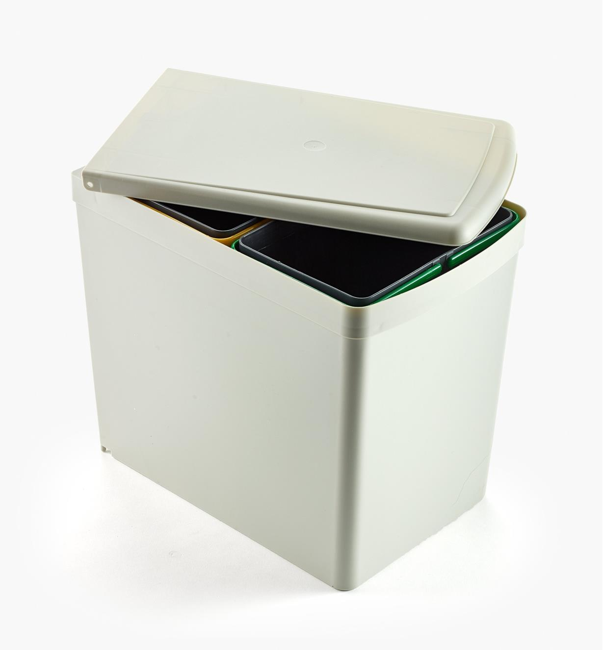 12K7815 - 15l Door-Mount Dual Waste Container