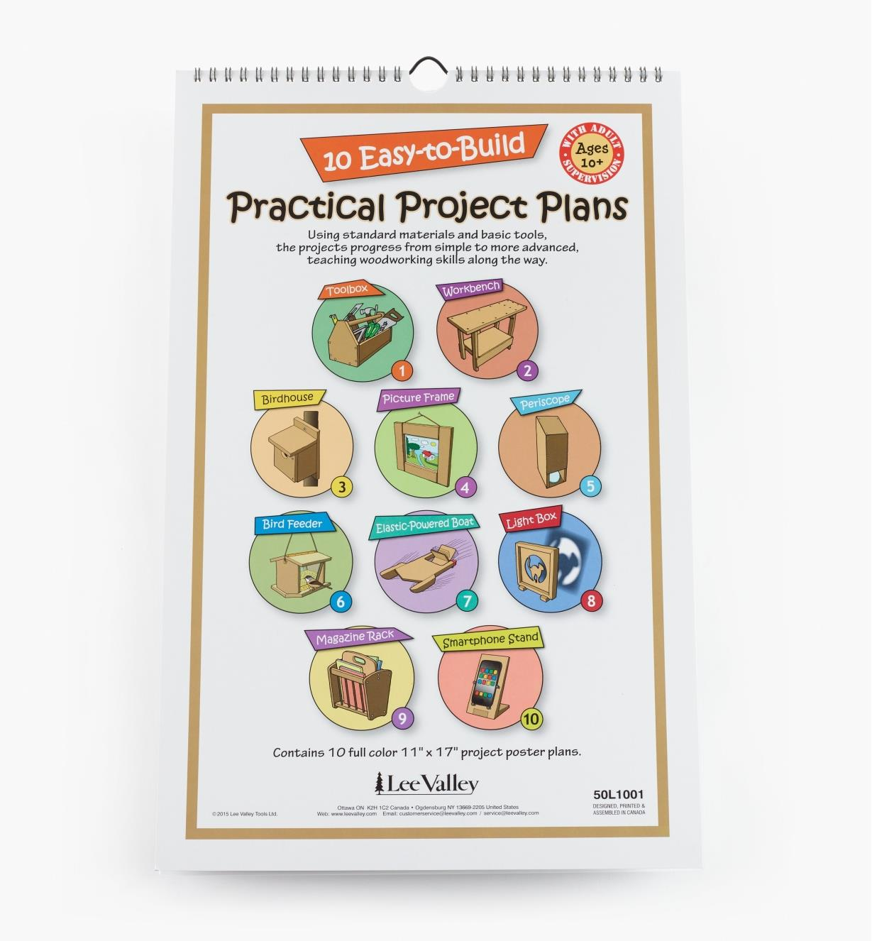 50L1001 - 10 Easy-to-Build Practical Project Plans