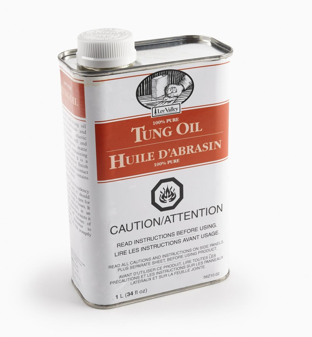 56Z1002 - Tung Oil, 1l/34 oz