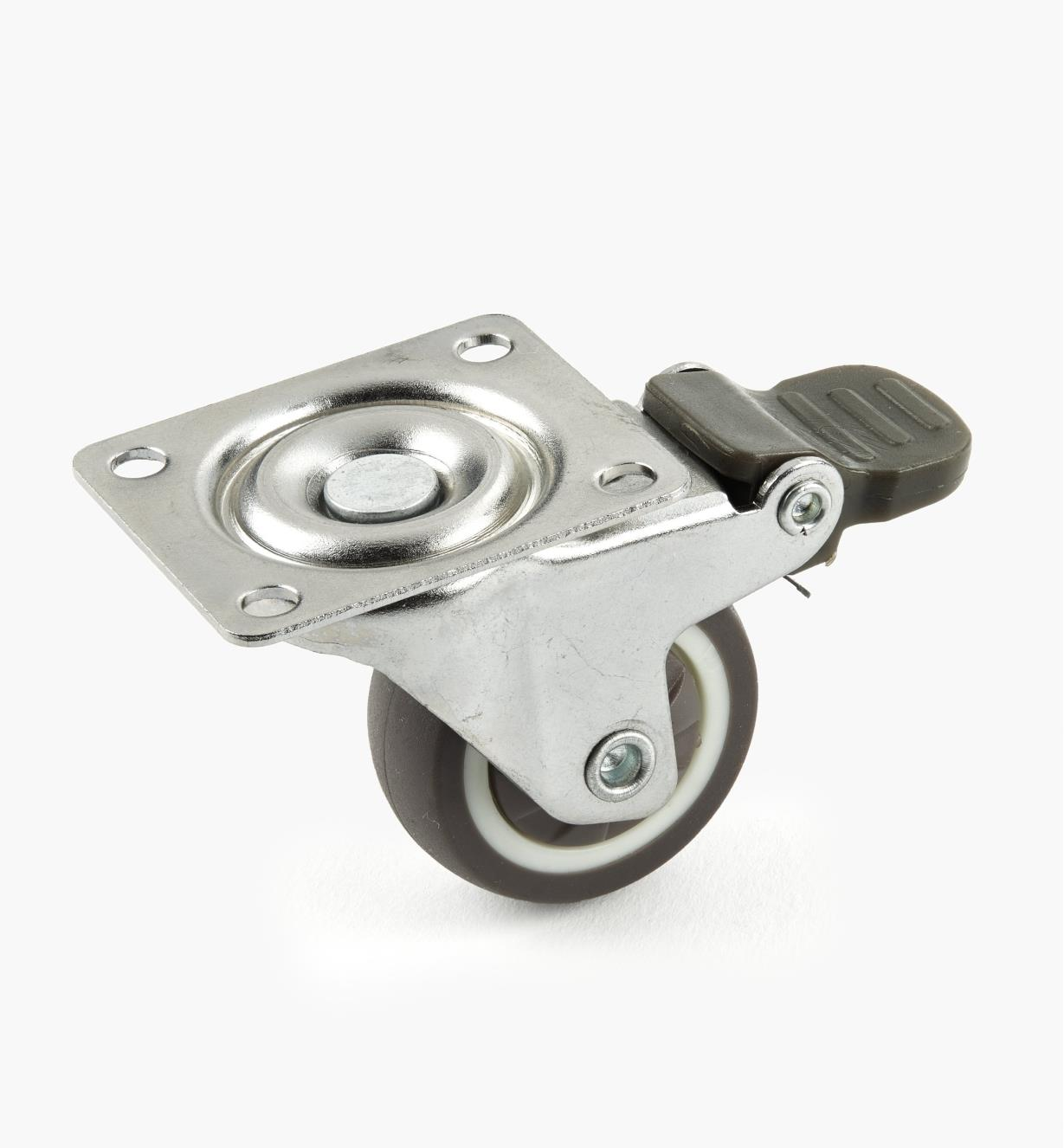 00K2165 - 32mm TPR Swivel Caster, ea.