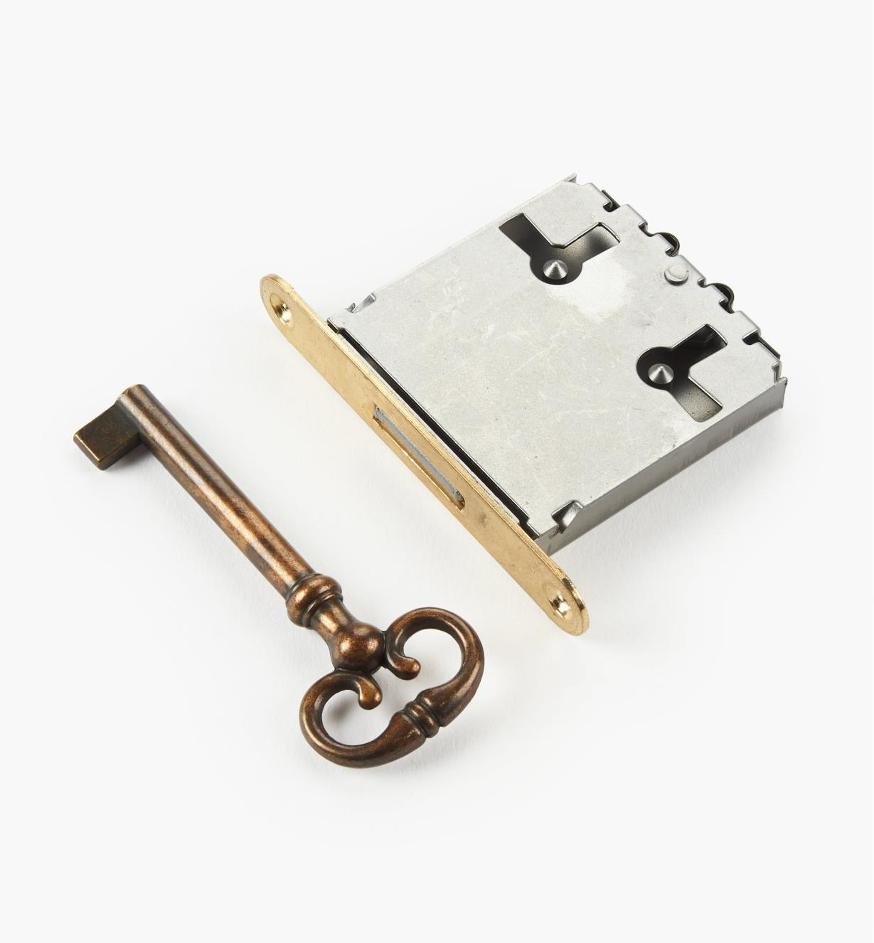 """00N2536 - 1 3/8"""" Standard Mortise Lock, each"""