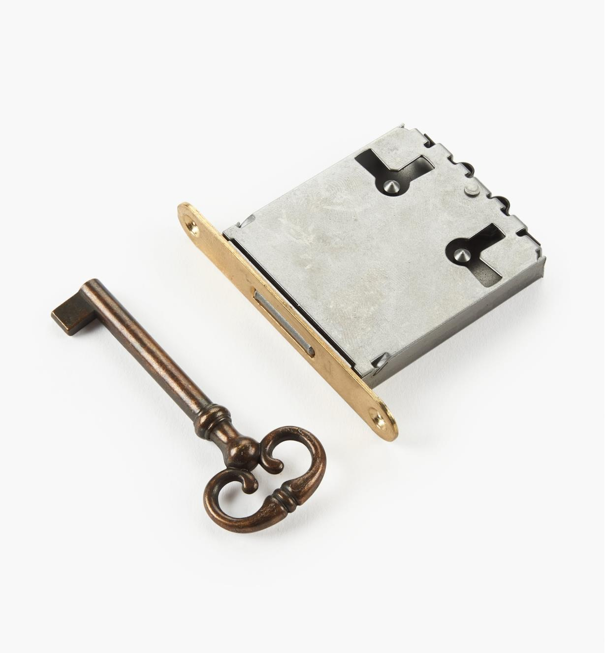 """00N2541 - 1 5/8"""" Standard Mortise Lock, each"""