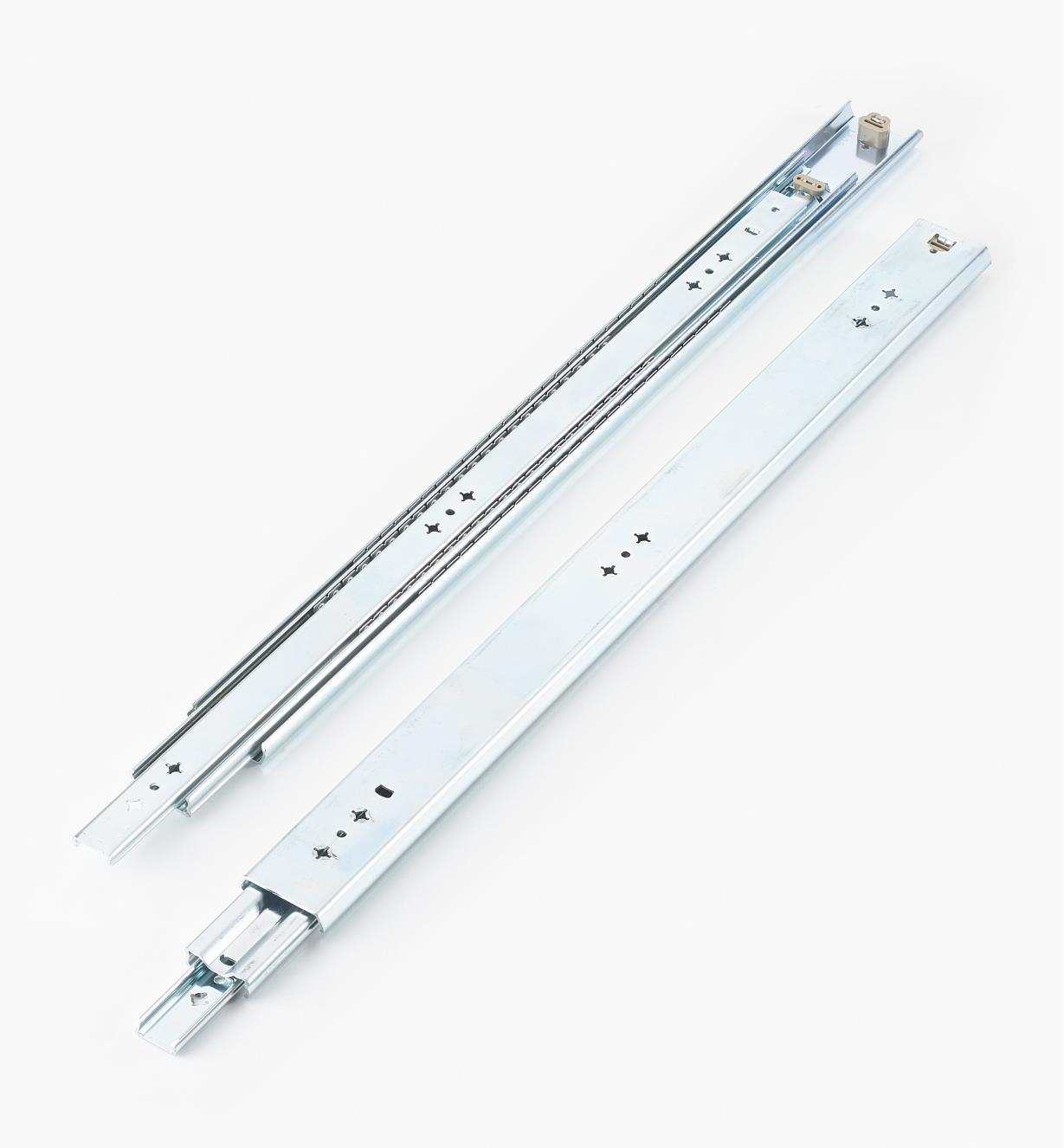 02K3226 - Coulisses de 26po (650mm) à extension complète pour charge de 200lb, la paire