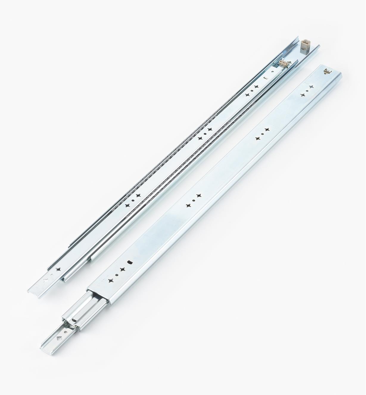 02K3230 - Coulisses de 30po (750mm) à extension complète pour charge de 200lb, la paire