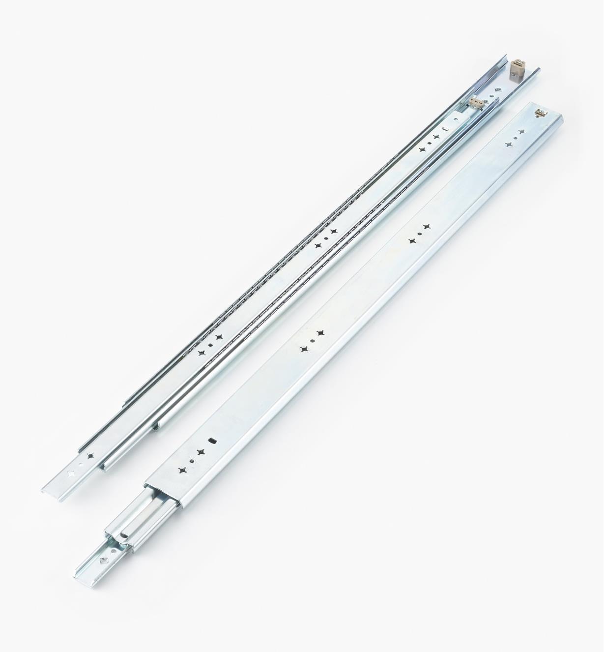 02K3232 - Coulisses de 32po (800mm) à extension complète pour charge de 200lb, la paire