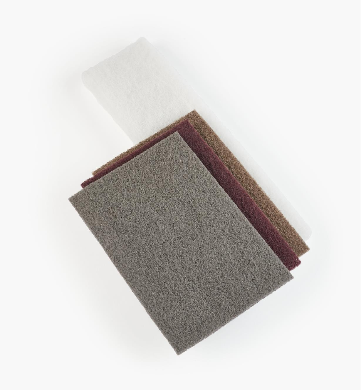 54K1003 - Sample Set of 4 3M Rubbing Pads