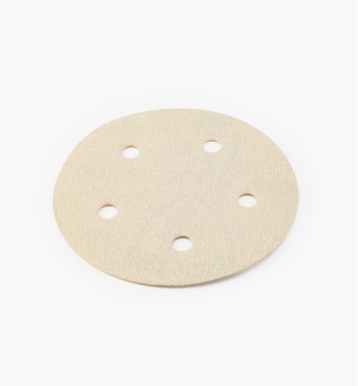 68Z9415 - Disque autoagrippant de 5po à 5perforations, grain150