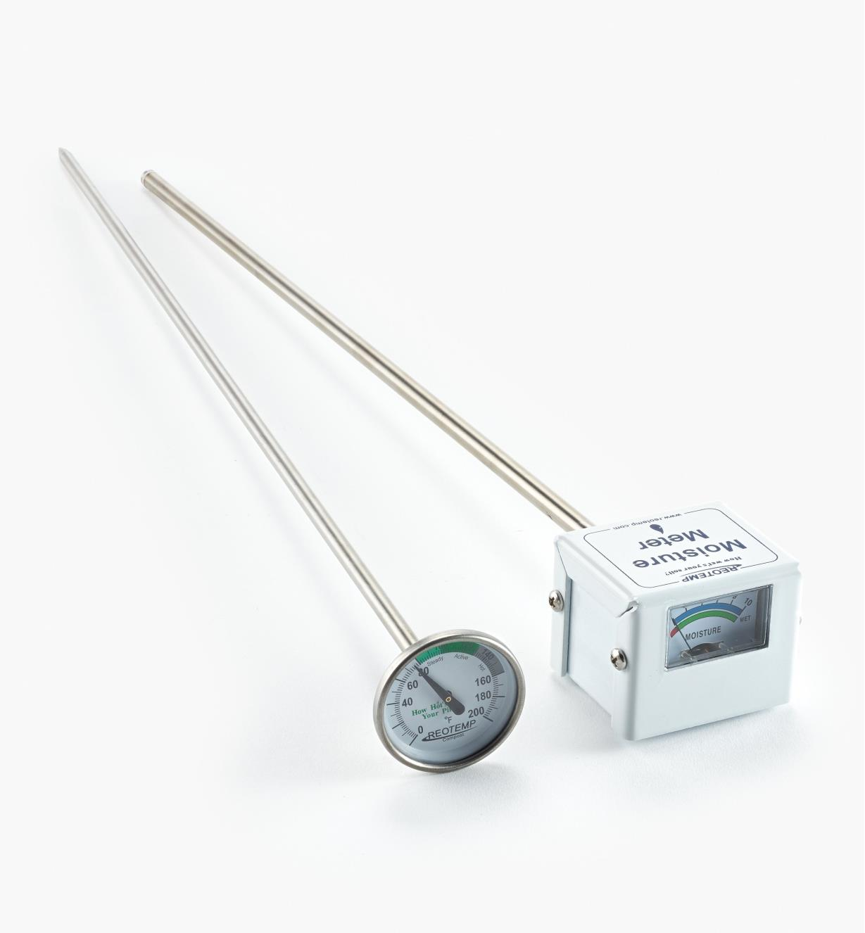 CT104 - Compost Thermometer & Moisture Meter Set